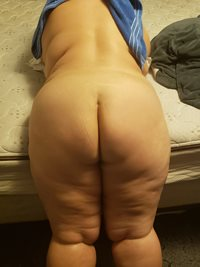 My body from behind