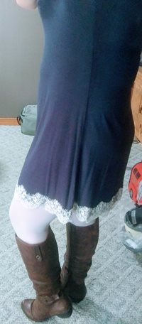 Just getting in from work, Anyone want to help me into some lingerie, or so...